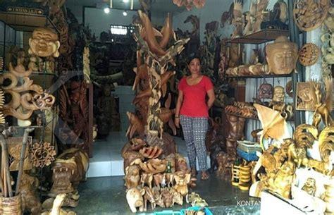 Lu Belajar Dari Kayu pasar ekspor kerajinan kayu bali masih potensial