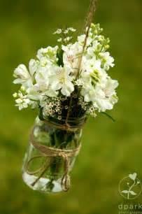 mason jars with flowers wedding ideas pinterest