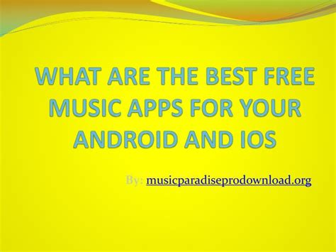 best slideshow app for android ppt what are the best free apps for your android and ios powerpoint presentation id