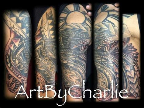 filipino tribal tattoo 5 sleeve thx charlie cars