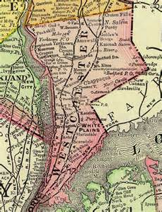 chappaqua ny county westchester county new york 1897 map by rand mcnally