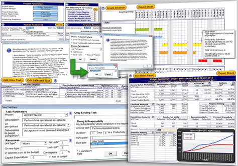 ms excel templates for project management excel project management template