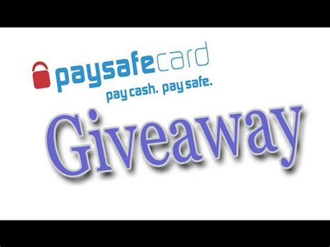 25 euro paysafecard gewinnspiel giveaway closed doovi - Paysafecard Giveaway
