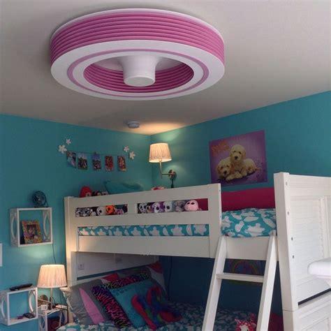 bunk bed ceiling fan exhale fans ef34 12 pkpk quot pretty in pink quot exhale fans