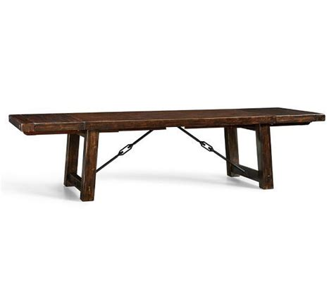 pottery barn benchwright bench 1000 images about dining room on pinterest