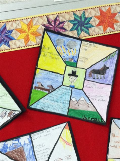 biography quilt squares 56 best images about 4th grade reading project on