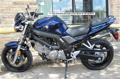 Suzuki 650cc Motorcycles Home Gt Used Bikes Gt 2008 Suzuki Sv650 650cc Used