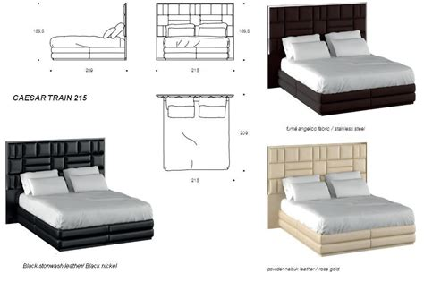 Caesar Size Bed by Collection Em
