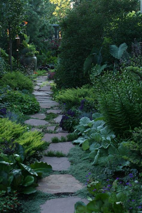 Journeys Gardens by A Narrow Side Yard Becomes A Fascinating Journey Gardening