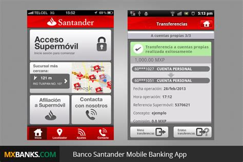 banco santander banking santander mexico
