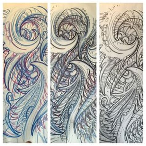 biomechanical tattoo tutorial 1000 images about tattoos on pinterest alien vs