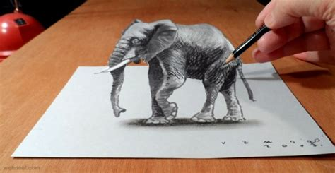 How To Make 3d Sketch On Paper - 30 beautiful 3d drawings 3d pencil drawings and works