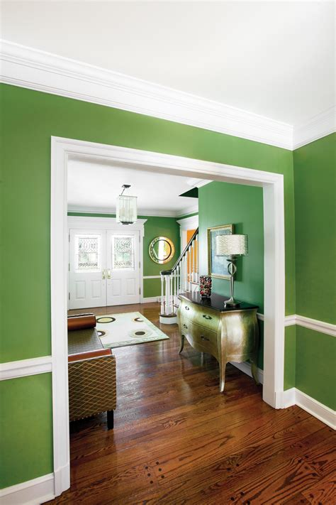 interior wall paint green hawk haven