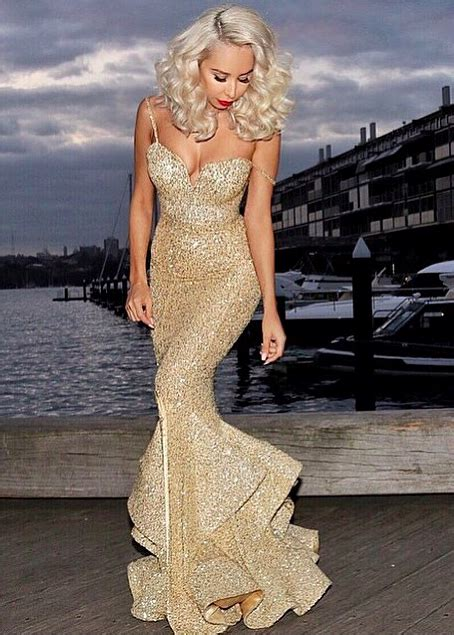 gold sequins mermaid evening dress 2017 sweetheart mermaid prom dress with split evening