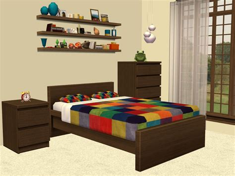 ikea malm bedroom set theninthwavesims sims 2 ikea malm bedroom furniture