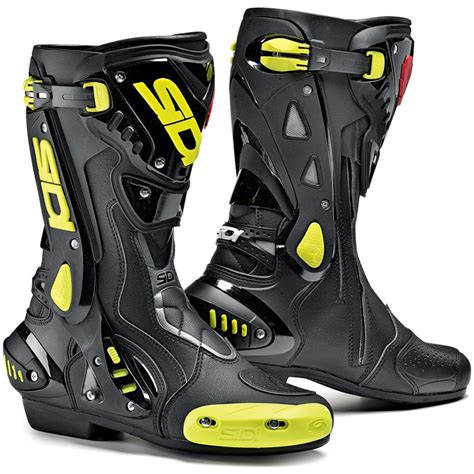 motorcycle racing boots sidi st motorcycle boots stealth sport racing biker boot