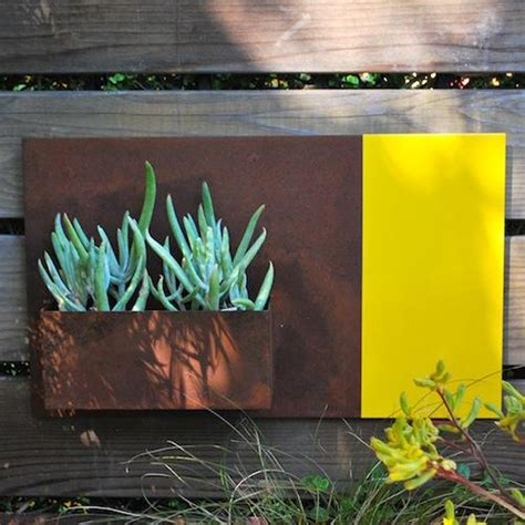 cool planters three cool wall planters