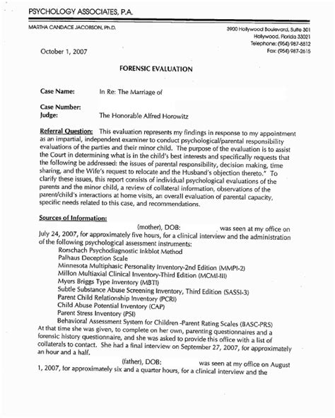Custody Evaluation Reference Letter How To Write A Guardianship Letter For A Minor Guardianship Letter Apa 6th Edition