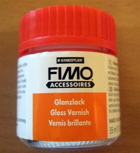 staedtler fimo gloss varnish for polymer clays sculpey