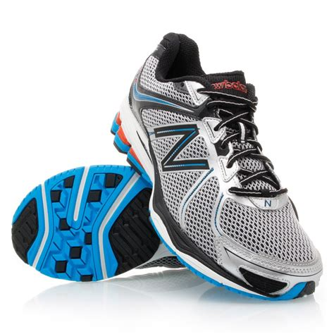 new balance 880 mens running shoes black silver blue
