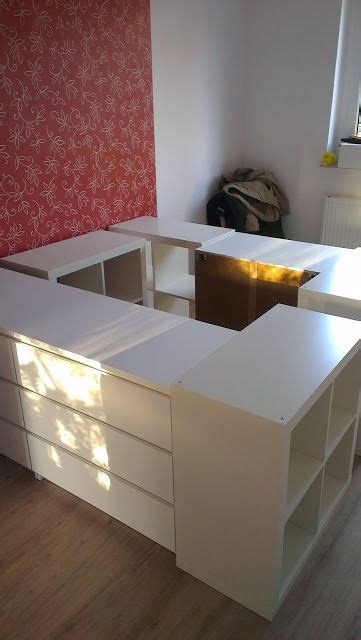 loft bed ikea bed home decor  bed storage