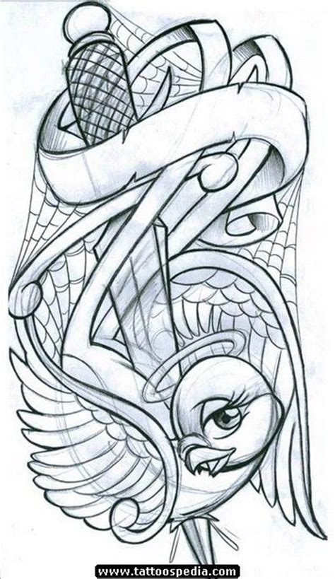 badass tattoos drawings pin by taylar dobbie on bird