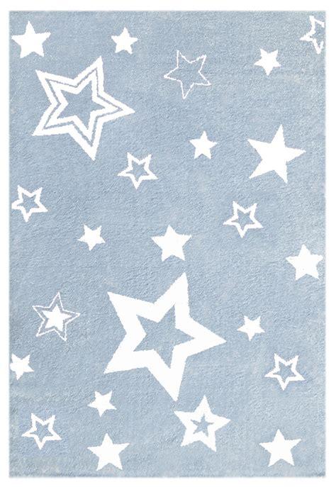 teppich mit sternen teppich mit sternen hellblau weiss honeyhome ch