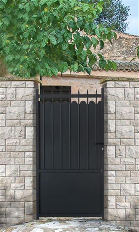 Cloture De Jardin En Aluminium 4703 by 1000 Id 233 Es Sur Le Th 232 Me Portillon Sur Portail