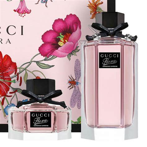 gucci pink flora gardenia gift set parfum perfume italy