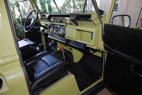 land rover series 3 interior 1971 series 2a interior landrover spirit