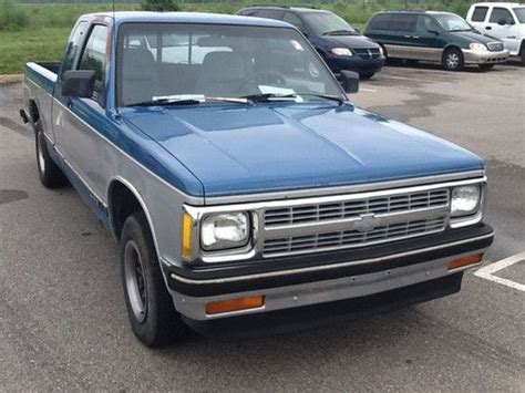 buy used 1992 chevrolet s 10 ext 2wd stick in plainfield
