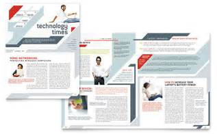 technology newsletters templates amp designs