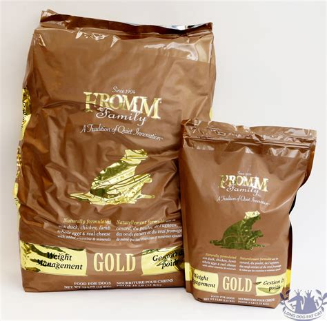 weight management food for dogs fromm gold weight management food