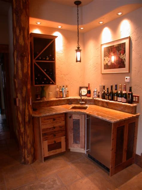 goldenview bar eclectic wine cellar denver by