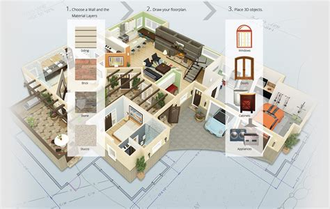 Free Floor Plan Builder by Chief Architect Home Design Software For Builders And
