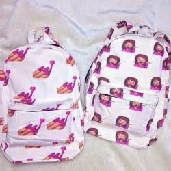 Emoji emojis emoticons iphone emoji backpack emoji school bag girl