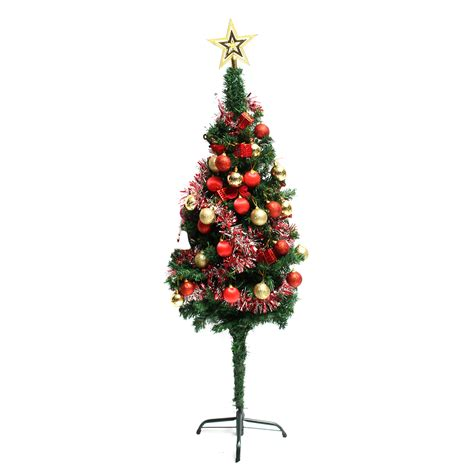 balled christmas tree 24pcs glitter baubles shatterproof tree decoration ornament alexnld