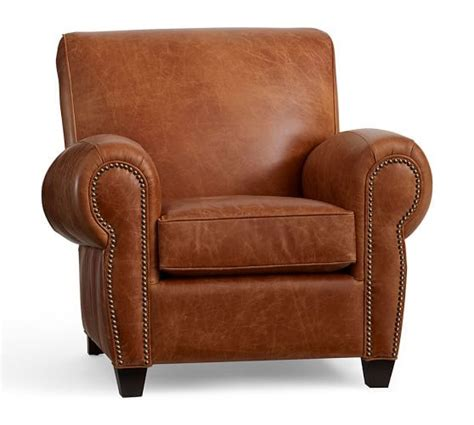 manhattan leather recliner with nailheads 13 best new apartment images on dining room