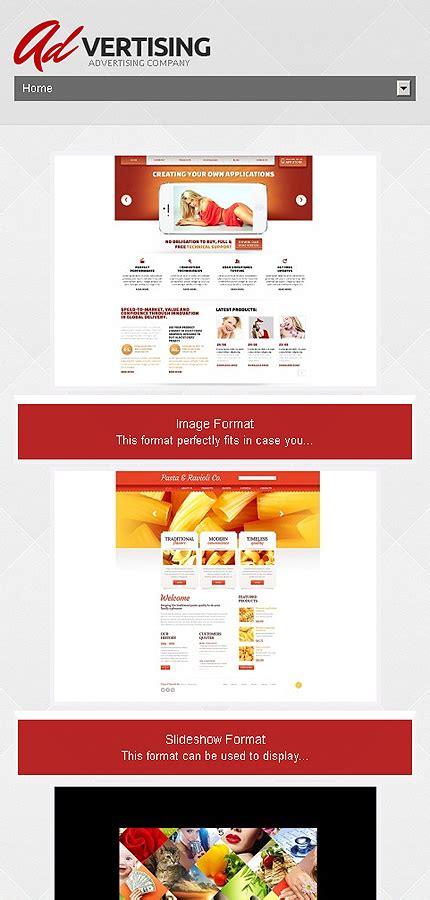 wordpress templates for advertising advertising company wordpress theme 47007