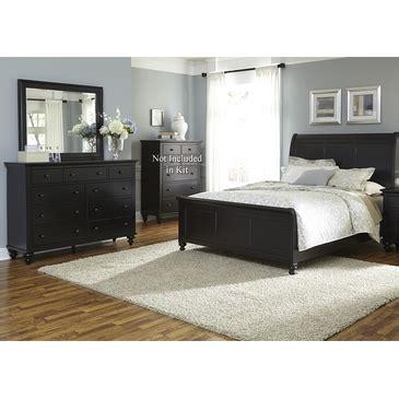 hamilton iii black sleigh storage bedroom set from liberty liberty hamilton iii sleigh three piece bedroom set in