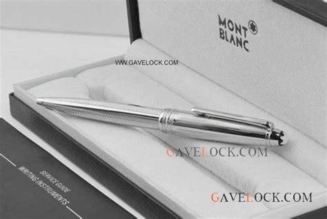 Mont Blanc Quality montblanc meisterstuck le grand silver ballpoint pen