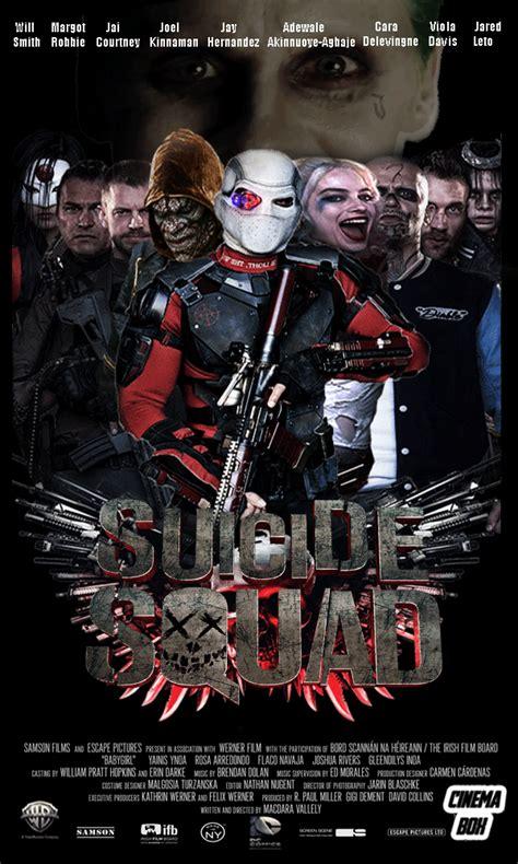 suicide squad full movie affiches et pochettes suicide squad de david ayer