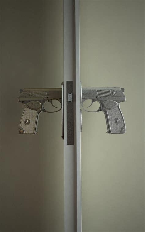 gun door handle pistol door handle interior design
