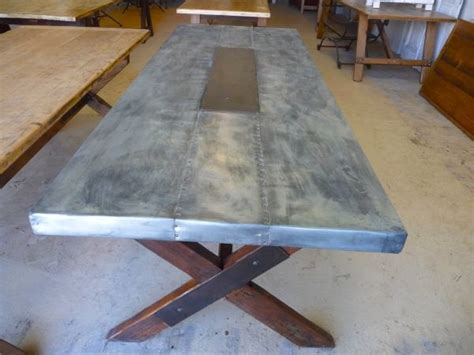 how to a zinc table top 1000 images about zinc table tops on