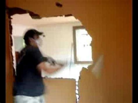come rasare un muro interno abbattimento muro