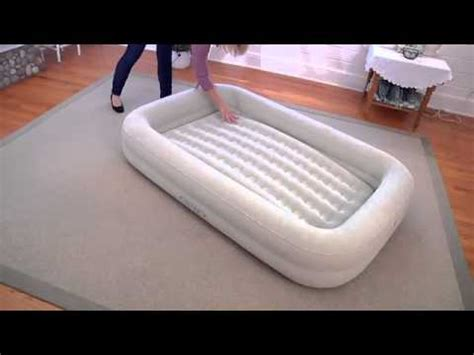 intex travel bed kidz travel bed set intex 66810 youtube