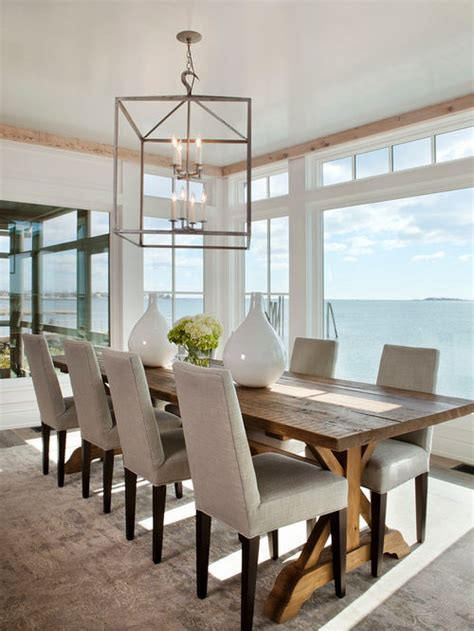 Beachy Dining Rooms style dining room design ideas remodels photos