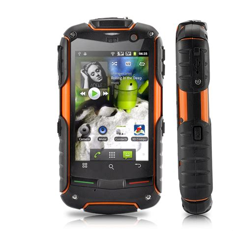 rugged cell phones fortisx unlocked cell phone rugged waterproof dustproof shockproof 3g android ebay