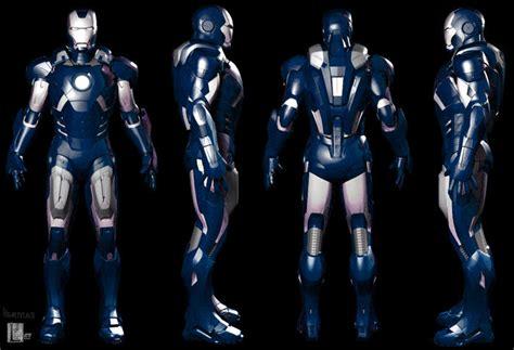 image blue iron man armor hydroman djuxykjpg