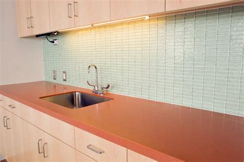 Green Kitchen Tile Backsplash Glass Tile Backsplash Ideas Slideshow